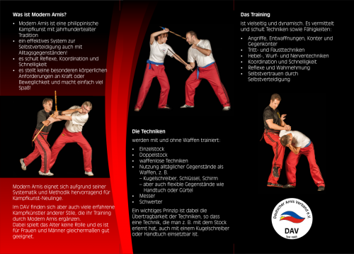 Deutscher Arnis Verband Flyer