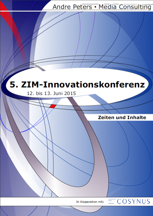 Andre Peters - Media Consulting Broschüre Innovationskonferenz