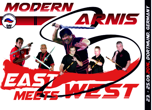 Deutscher Arnis Verband East meets West_2016