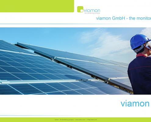 PPT-Vorlage viamon GmbH