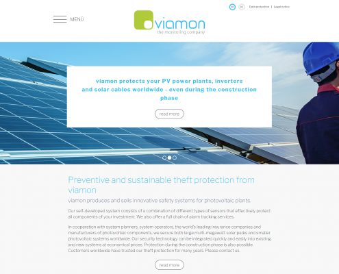 Webseitenoptimierung viamon GmbH